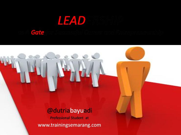 leadpreneurship